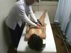 Hidden Cam On Young Japanese Massage Patient Pussy Fingered
