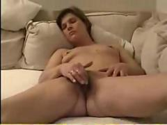 Ugly mature with small tits and filthy pussy