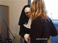 Spanked By A Nun