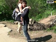Hardcore hitch hike with teen babe movie 2