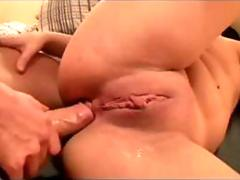 Horny babes in student sex party film