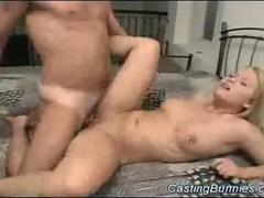 Bunny gets fucked at casting