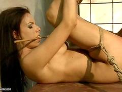 Gorgeous girl getting punished and fucked