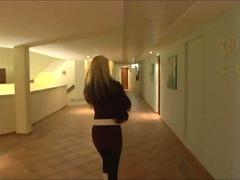German Big Titted prostitute fucked in Hotel