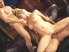 Hannah Harper jerks off two large dicks2