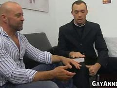 Priest ends up fucking guy from church