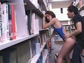 Library hardcore fucking with hot asian tramp in swim suit