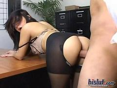Sativa is a pantyhose slut