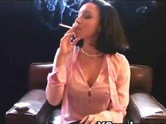 Hottie Horny Slut Smoking