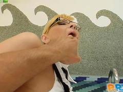 Stunning blondes asses stunned by their big monster cocks