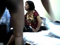 Indian college girl Kalyani first fuck by faculty