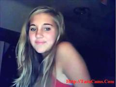 Blond Sweet Girl On Cam