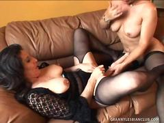Kelly Leigh and Sancha Eat Each Others Twats