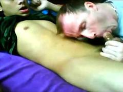 twink blown by his neighbor for the fun of it