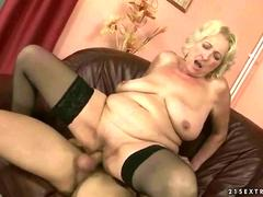 Granny wants to sit on it deep