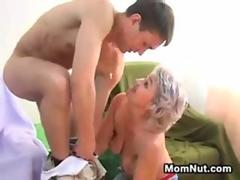 Russian Mother With A Much Younger Guy