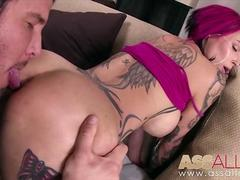 Tatted Hot Chick Anna Bell Peaks