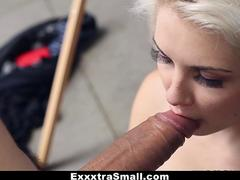 ExxxtraSmall - Tiny Blonde Gets Tricked Into Getting Fucked