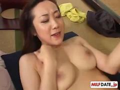 Asian slut gets fucked and wants to cum strongly