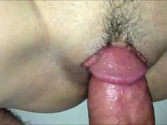Fucking and teasing a horny vagina - closeup