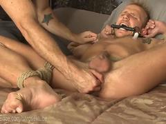 First Edging For A Southern Bi Stud