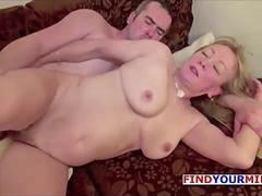 Mom and Hubby in First Time German Porn Casting