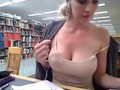 Hottest Library Masturbator Yet!