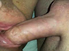 BBW having vaginal sex - closeup HD