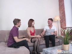Sell Your GF - Coed fucked for student loan