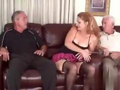 cougar has a hot time as she gets plowed