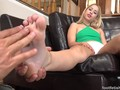 Goldie foot fetish