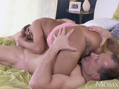 MOM Horny Milf milks her husbands cock dry with her expert pussy