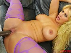 Ryan Conner is a sizzling hot milf getting freaky