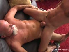 Daddy Travis Woods Barebacks Landon