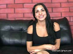 Chesty Latina Evey Lavo Is Good With Her Mouth