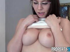 PropertySex Young Highly Motivated Real Estate Agent Wild Sex With Client