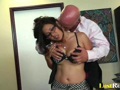 Hardcore slamming for the incredibly lusty Jessica Bangkok