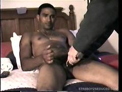 Giving Straight Boy Jose a Handjob