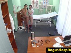 Real euro patient pussyfucked by doctor