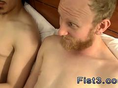 Very ugly twinks fuck in a  cheap motel room