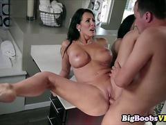 Mommy Reagan Foxx has horny big boobs