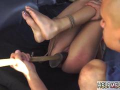 Chinese girl bondage fuck and sex slave gangbang hd He even has a dungeon space with