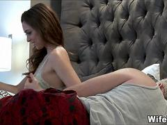 Young Brunette Wife is super Horny