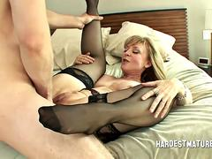 Nina Hartley Bangs Her Nephew