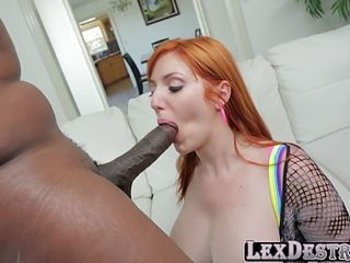 nympho redhead lauren philips gets fucked hard by lexington steele
