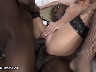 face fucked deepthroat cum swallow blonde interracial
