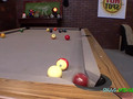 Midget horny while playing pool