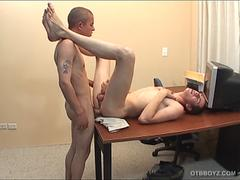 Twink Latinos Gustavo and Mauricio Fucking
