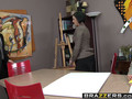 Brazzers - Big Tits at Work -  Full Page Spread Eagle scene starring Dylan Ryder and Keiran Lee
