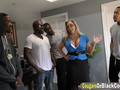Cougar Amber Lynn Bach Takes Two Black Dongs